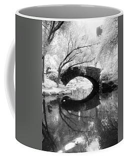 Coffee Mug featuring the photograph Central Park Photograph - Gapstow Bridge Vertical by Dave Beckerman