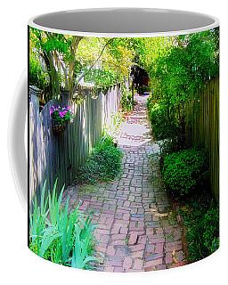 Garden Alley Coffee Mug by Brian Wallace