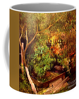 Garden Backyard Corner Coffee Mug