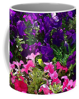 Coffee Mug featuring the photograph Garden Cascade by Glenn McCarthy