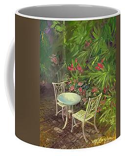 Garden Conversation Coffee Mug