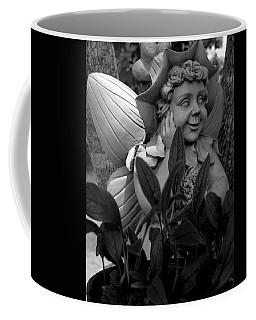 Garden Fairy Statue Coffee Mug