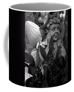 Garden Fairy Statue Coffee Mug