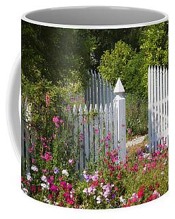 Garden Gate Coffee Mug