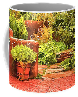 Garden Coffee Mug by Muhie Kanawati