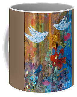 Garden Of Love Coffee Mug by Robin Maria Pedrero