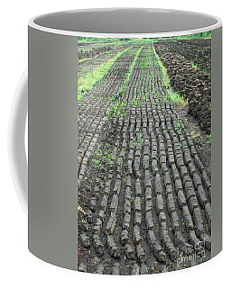 Coffee Mug featuring the photograph Garden Of Peat by Brenda Brown