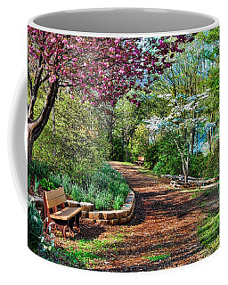 Coffee Mug featuring the photograph Garden Of Serenity by Kenny Francis
