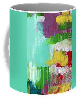 Garden Path- Abstract Expressionist Art Coffee Mug
