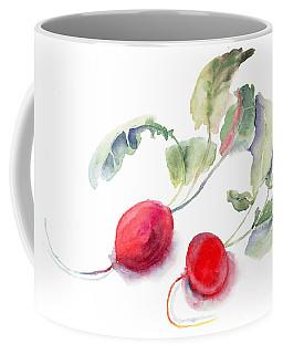 Garden Radish Coffee Mug