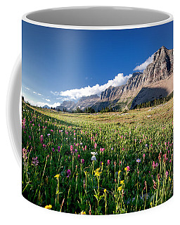 Garden Wall At Dusk Coffee Mug