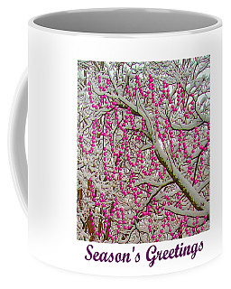 Garlands In The Snow Coffee Mug