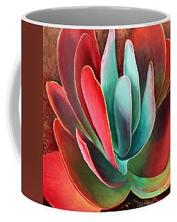 Coffee Mug featuring the painting Garnet Jewel by Sandi Whetzel