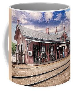 Garrison Train Station Colorized Coffee Mug