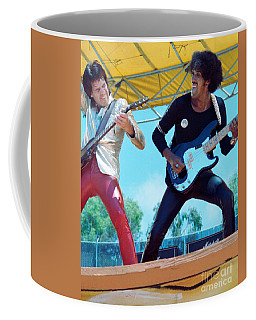 Gary Moore And Phil Lynott Of Thin Lizzy At Day On The Green 4th Of July 1979 - 1st Color Unreleased Coffee Mug