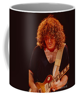 Gary Richrath Of Reo Speedwagon At Oakland Auditorium 1979 Coffee Mug