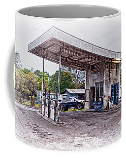 Coffee Mug featuring the photograph Gasoline Station by Jim Thompson