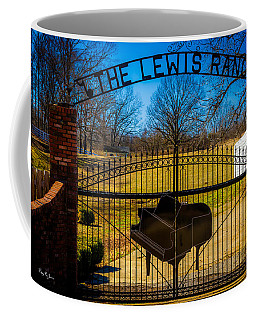Gates Of Rock And Roll Coffee Mug by Barry Jones