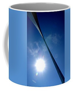 Coffee Mug featuring the photograph Arch Study 2 by Christopher McKenzie