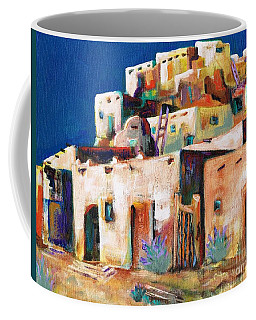 Gateway Into  The  Pueblo Coffee Mug by Frances Marino