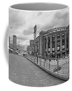 Gateway To Busch Black And White Coffee Mug