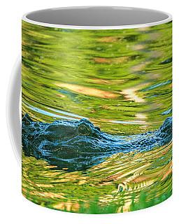 Gator In Pond Coffee Mug
