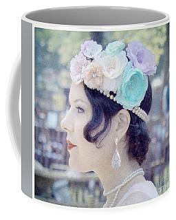 Gatsby Girl  Coffee Mug by Lilliana Mendez
