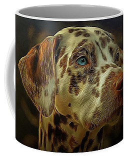 Gazing Into The Sunset Coffee Mug