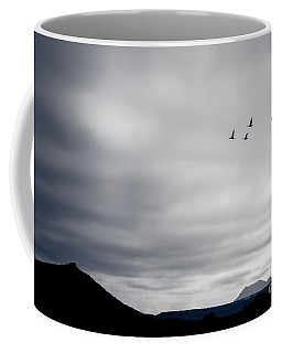 Geese Flying South For Winter Coffee Mug