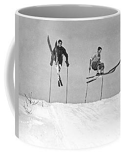 Gelandesprungs In St-sauveur Coffee Mug