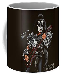 Gene Simmons Of Kiss Coffee Mug