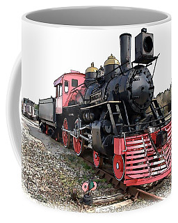 General II - Steam Locomotive Coffee Mug by Ludwig Keck