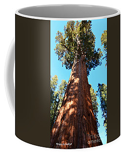 General Sherman Tree, Sequoia National Park, California Coffee Mug