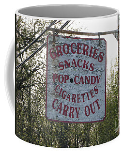Coffee Mug featuring the photograph General Store by Michael Krek