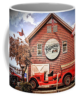 Geneva On The Lake Firehouse Coffee Mug