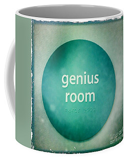 Coffee Mug featuring the photograph Genius Room by Nina Prommer