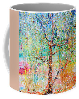 Genome Coffee Mug by Regina Valluzzi