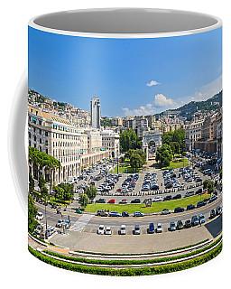 Genova - Piazza Della Vittoria Overview Coffee Mug