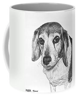 Gentle Beagle Coffee Mug by Kate Sumners