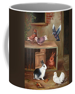 Gentle Creatures Coffee Mug by Hazel Holland