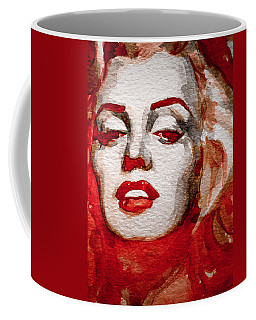 Coffee Mug featuring the painting Gentlemens Prefer Blondes by Laur Iduc