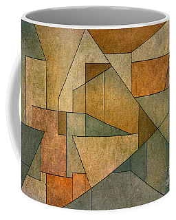 Geometric Abstraction Iv Coffee Mug
