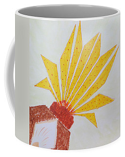 Geometric Blooming Lotus Coffee Mug