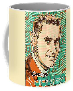 George Jones Pop Art Coffee Mug