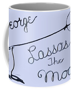 George Lassos The Moon Coffee Mug