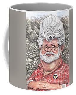 George Lucas Coffee Mug by Mark Tavares