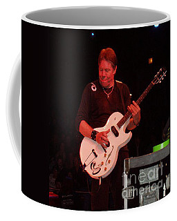 Coffee Mug featuring the photograph George Thorogood Performing by John Telfer