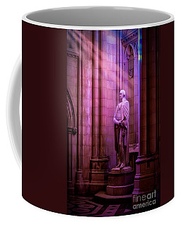 George Washington At The National Cathedral Coffee Mug