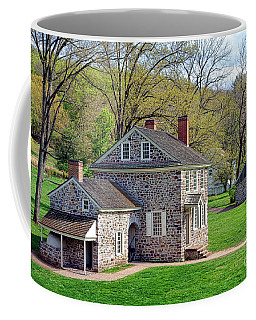George Washington Headquarters At Valley Forge Coffee Mug