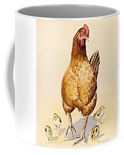 George's Hen And Her Chicks Coffee Mug